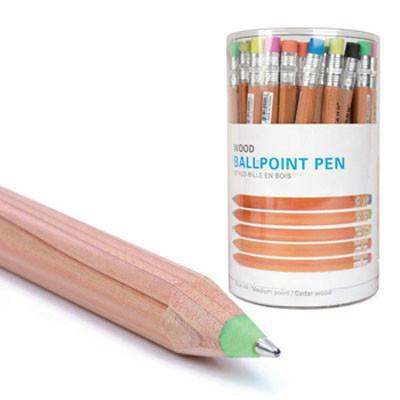 Wooden Ball Point Pens Asst.