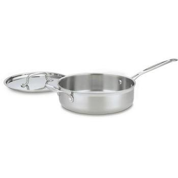 Cookware Multi-clad Pro Stainless Saute Pan 3.5qt W/ Cover