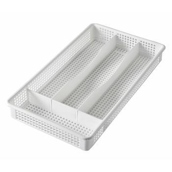 Cutlery Tray White 4 Compartments