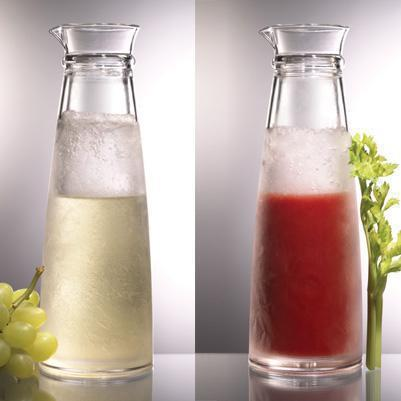 Acrylic Carafe Freezable Iced