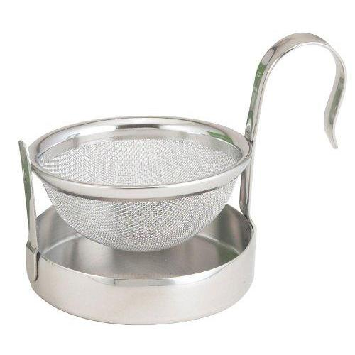 Tea Strainer Holder Stainless Mesh