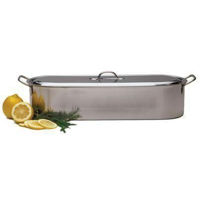 Cookware Fish Poacher Stainless Steel 18in