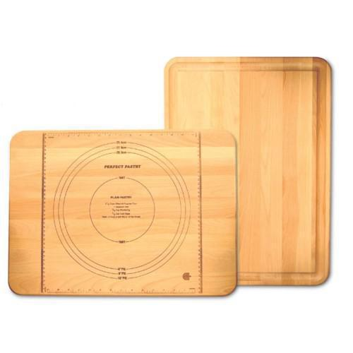 Pastry Marks Cutting Board With Groove 22 X 16 X 2