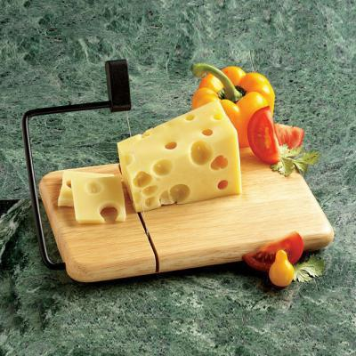 Serving Cheese Slicer Standing Wire Wood Base-beechwood