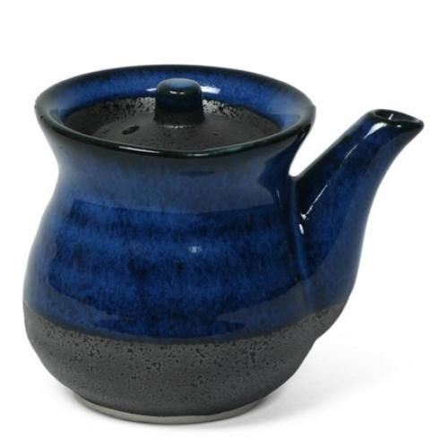 Dinnerware Sauce Pot Namako Blue 8 Oz. Capacity