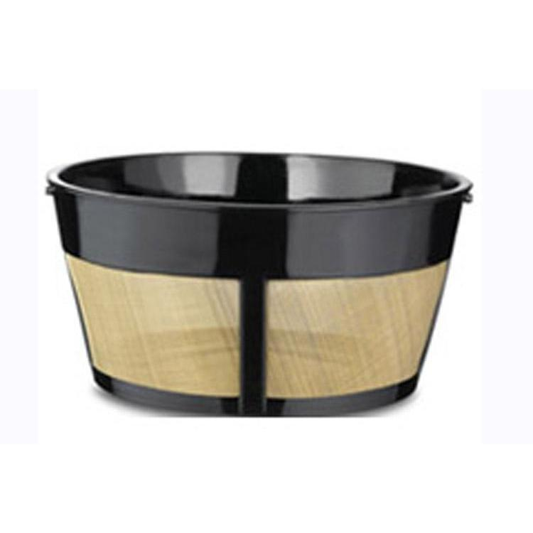 Coffee Filter Basket Permanent Golden 8-12 Cup
