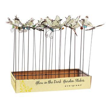 Outdoor - Decorative Stake Mini Butterfly Glow In The Dark  (each sold separately)