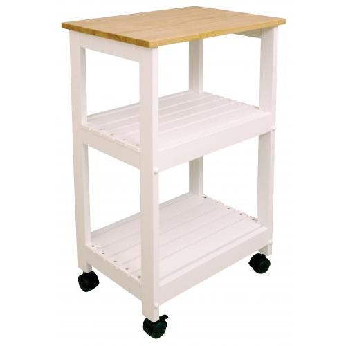Kitchen Cart Utility 21x15 White