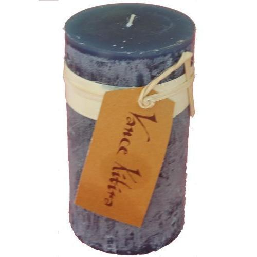 2 X 4in Pillar Candle - English Blue