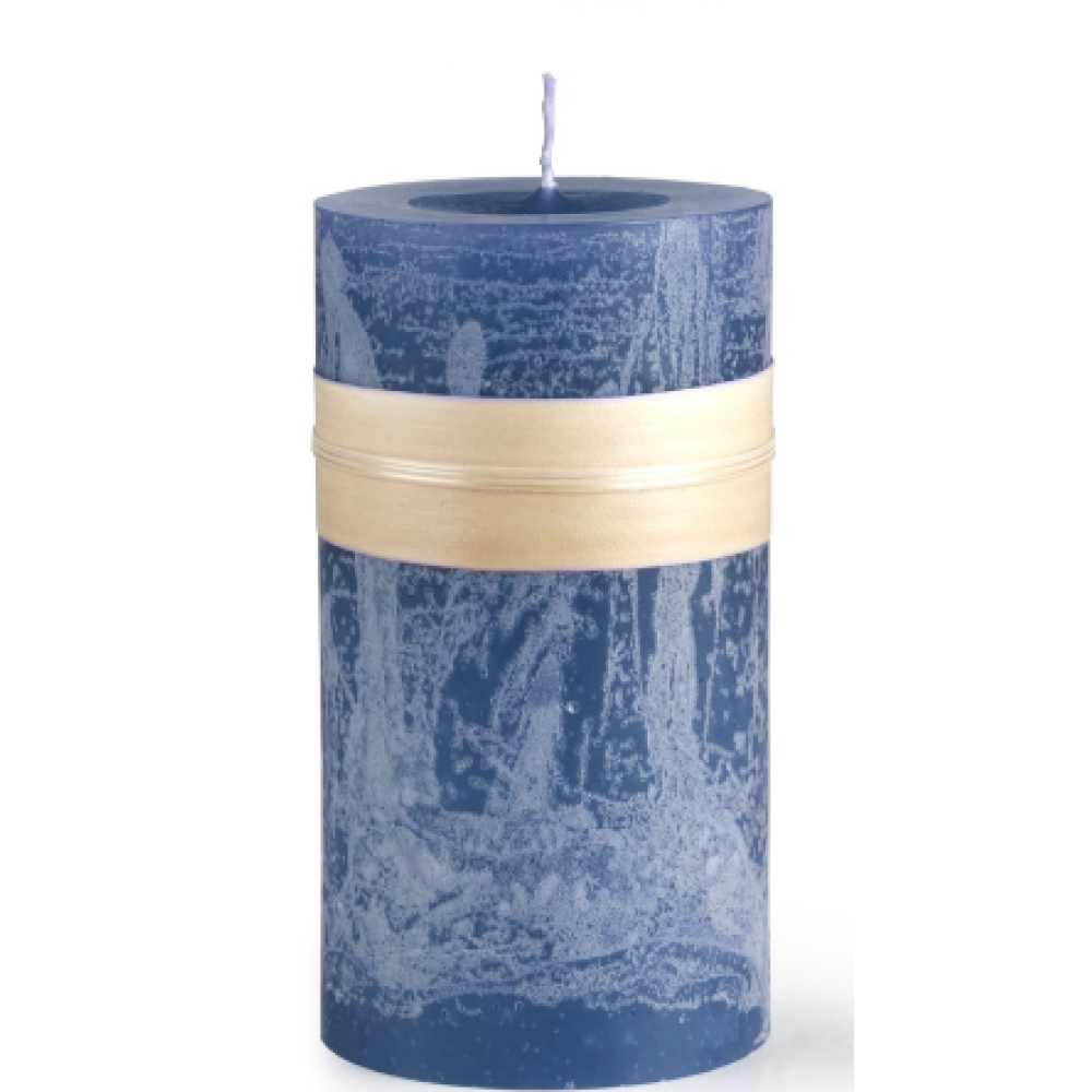 3.25 X 3in Pillar Candle - English Blue