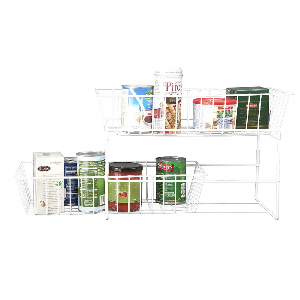 Slide Out Organizer - Large - White