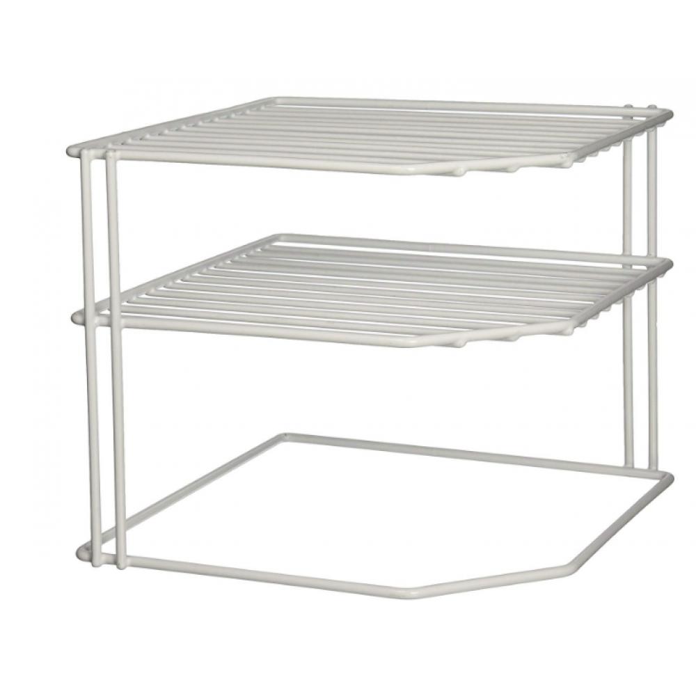 Corner Helper Shelf - White