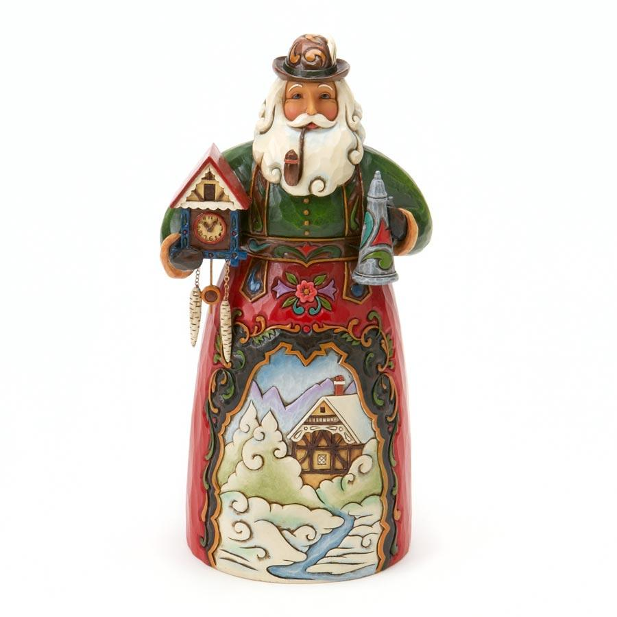 Jim Shore  Figurine Santa German