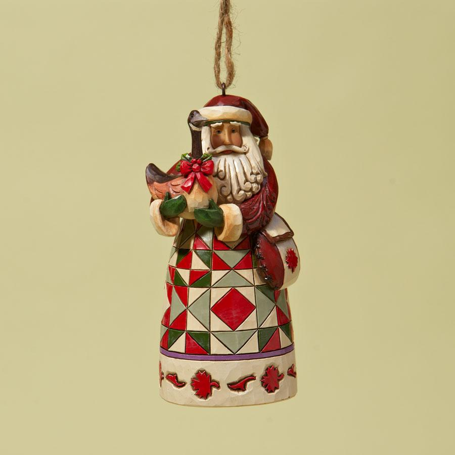 Ornament - Jim Shore Santa Canadian Santa
