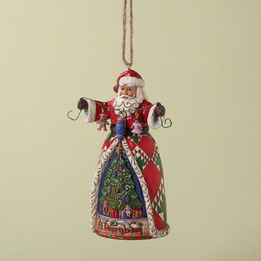 Ornament - Jim Shore Santa Tannenbaum