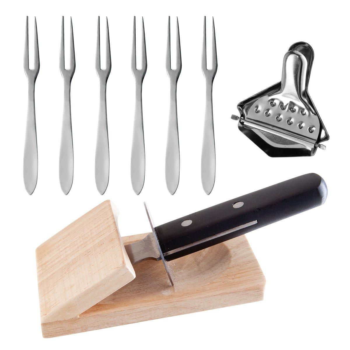 Seafood Oyster Knife Pick Grater Set 9 Piece Set