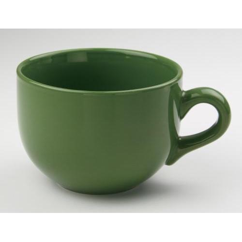 Mug Cafe Jumbo Bright 24oz Green-olive