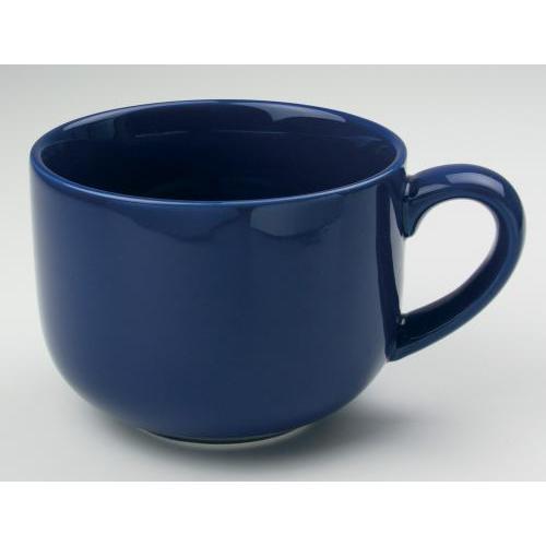 Mug Cafe Jumbo Bright 24oz Blue-navy