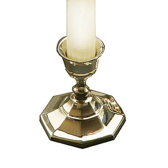 Taper Candlestick Holder Brass
