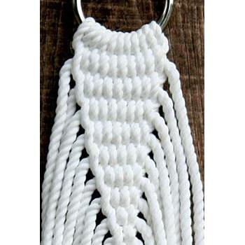 Hammock Family Size Olefin Rope White