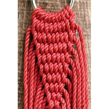 Hammock Family Size Olefin Rope Cranberry