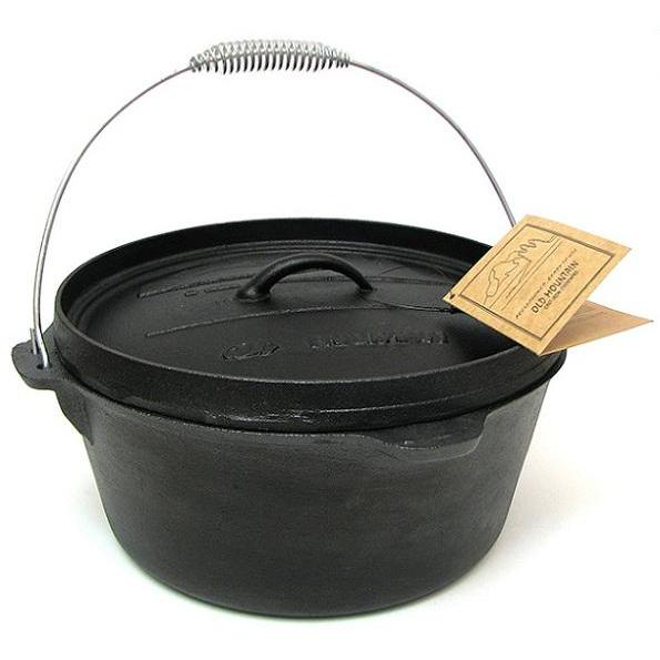 Cookware Cast Iron Dutch Oven 8qt