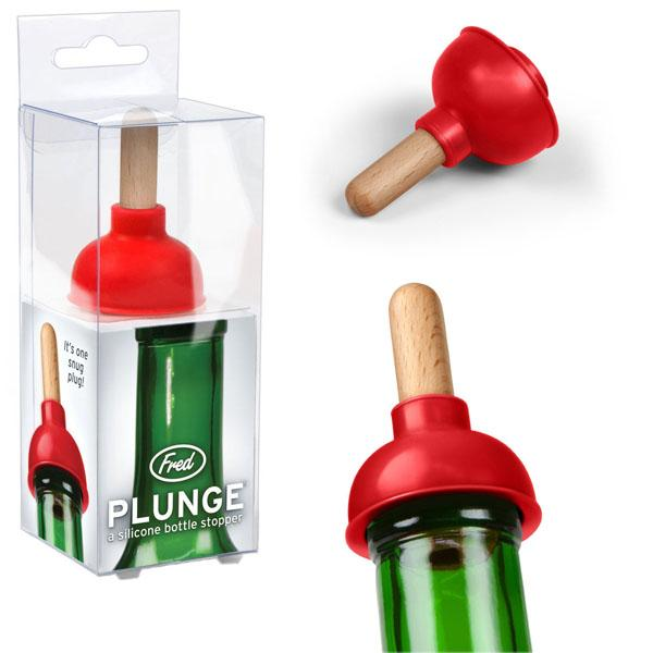 Wine Bottle Stopper - Plunge