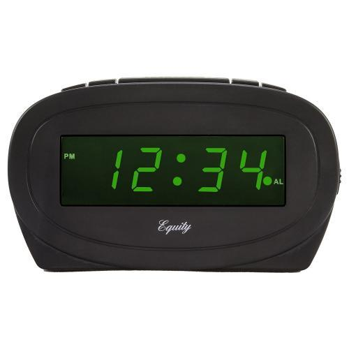 Alarm Clock Green L E D