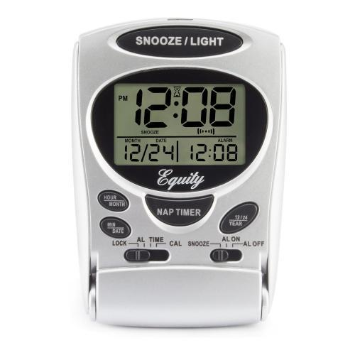 Alarm Clock L C D Digital Fold-up Travel