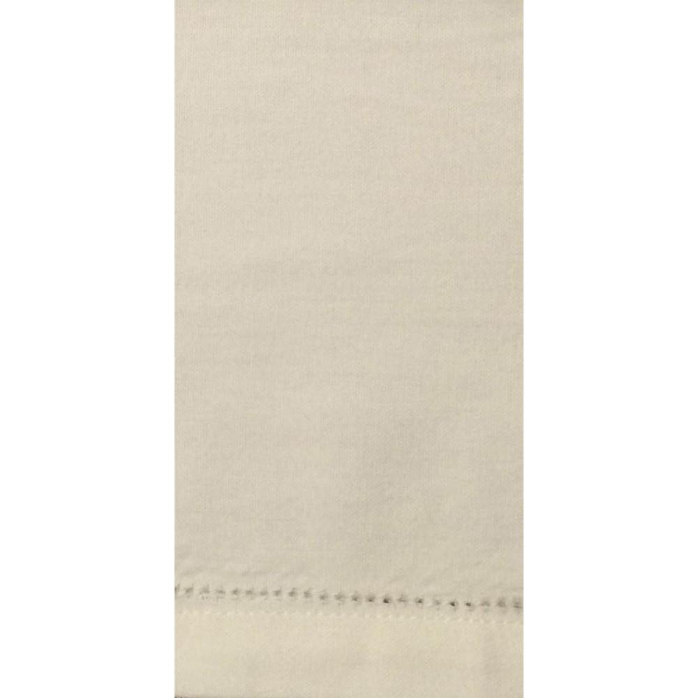 Napkin Hemstitch White