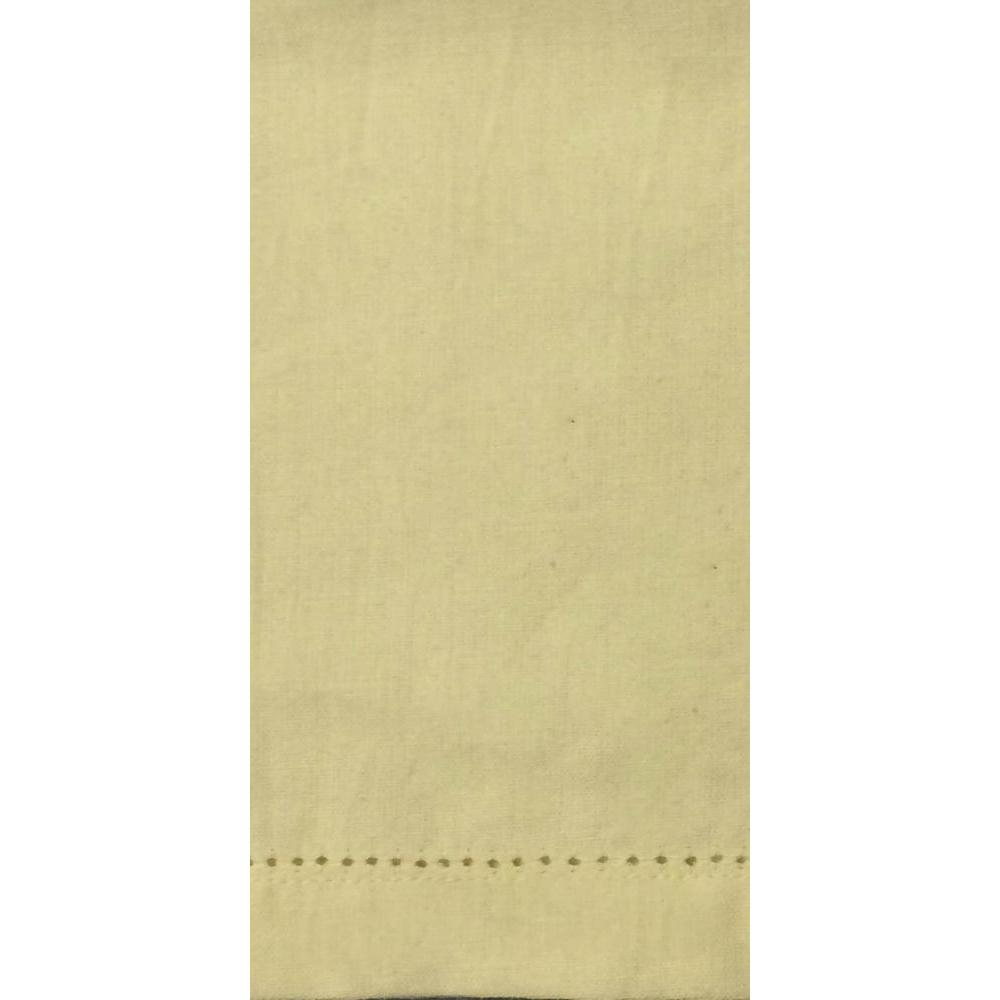 Napkin Hemstitch Tan-cream