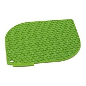Pot Holder Silicone Honeycomb Green