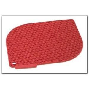 Pot Holder Silicone Honeycomb Red