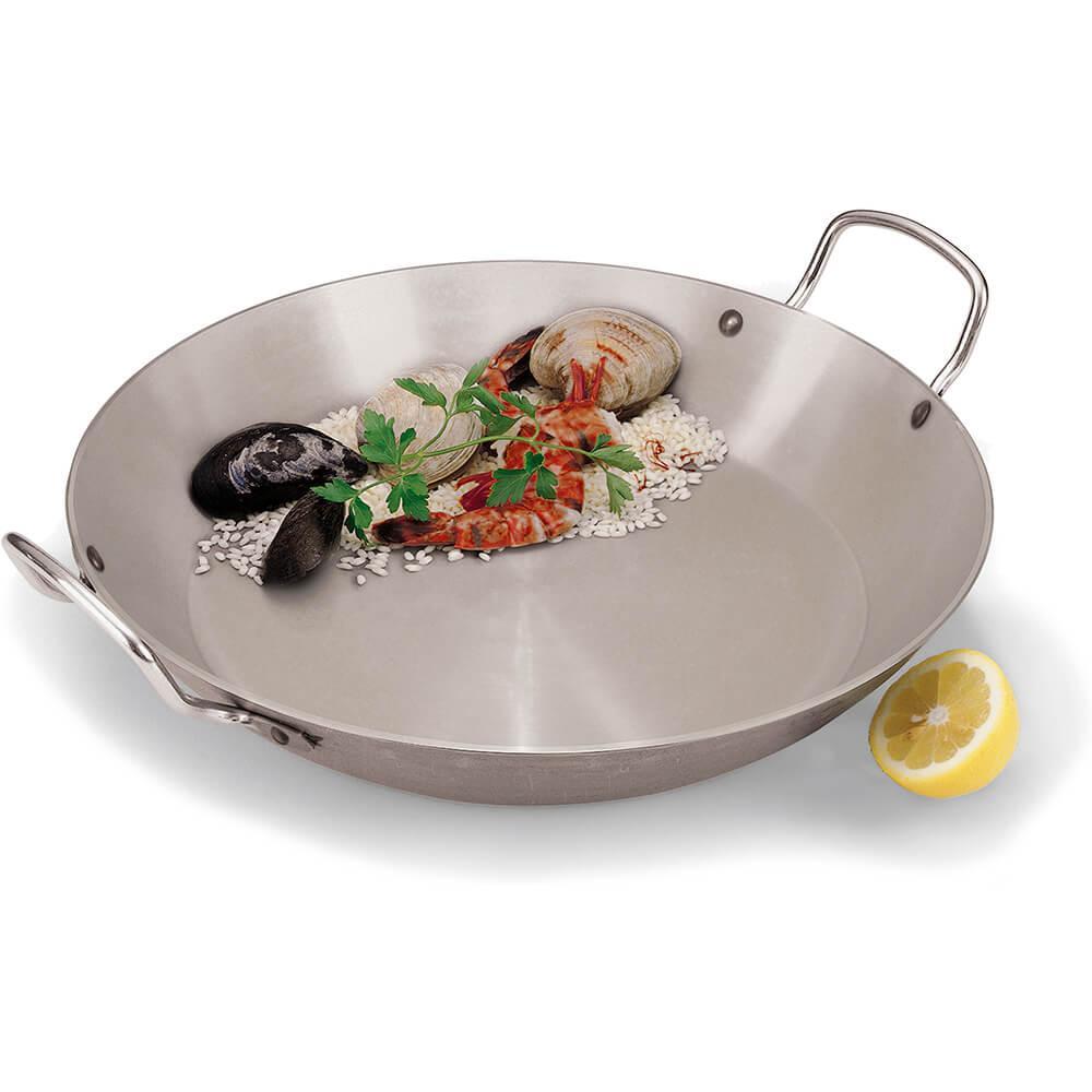 Cookware Carbon Steel Paella Pan 15 3/4 X 2 1/8