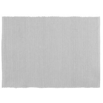 Placemat Ribbed White