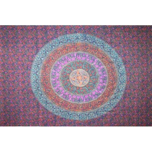Tapestry Single Size Sanganer Navy