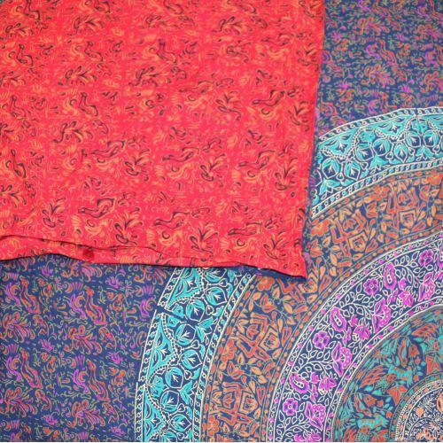 Tapestry Queen Size Sanganer Blue