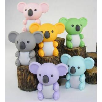 Eraser Koala Available In 6 Colors