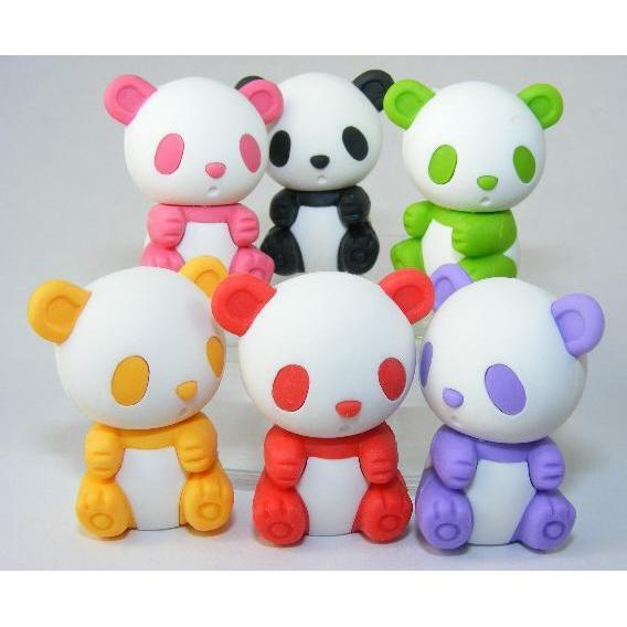 Eraser Panda Available In 6 Colors