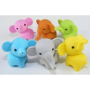 Eraser Elephant 6 Styles