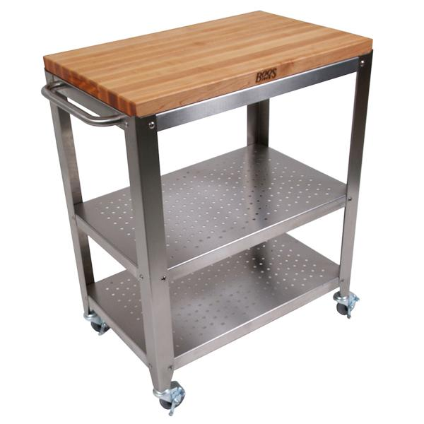 Kitchen Cart Island Cucina Culinart Maple Top