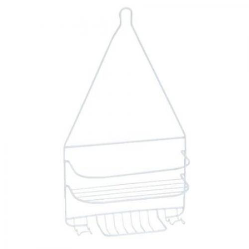 Shower Caddy Wire Homz Large White