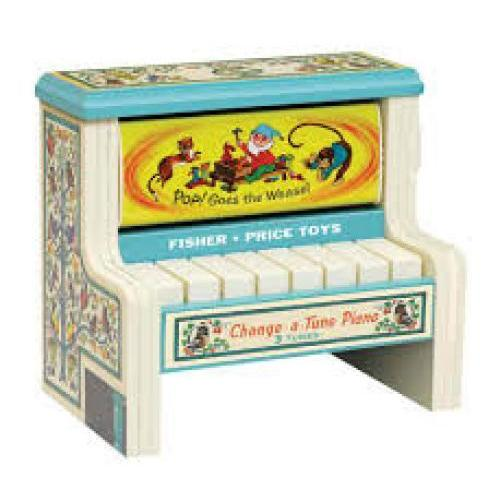 Fisher Price Change-a-tune Piano