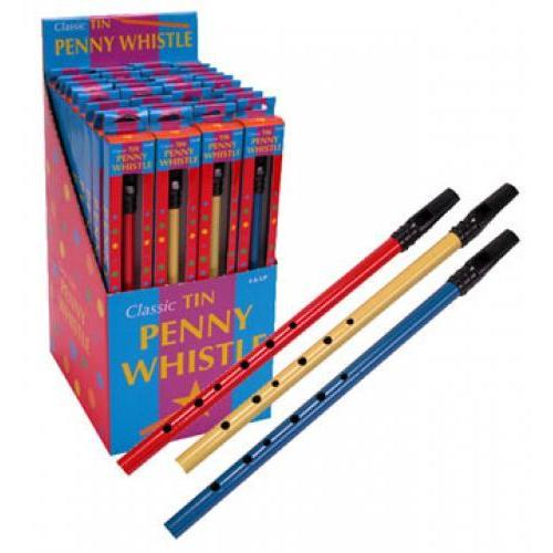 Music Penny Whistle Tin
