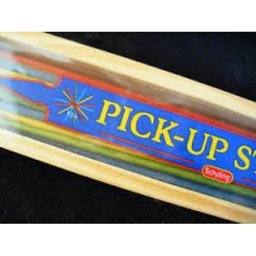Pick Up Sticks Wood Sliding Lid