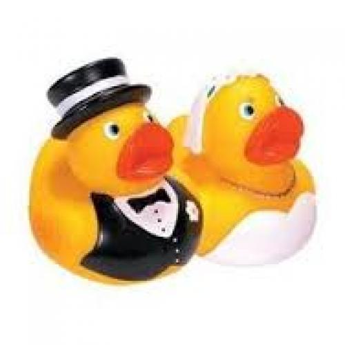 Rubber Ducky Bride & Groom