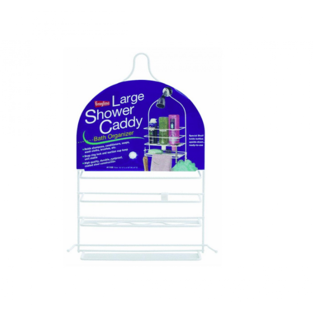 Shower Caddy Large White
