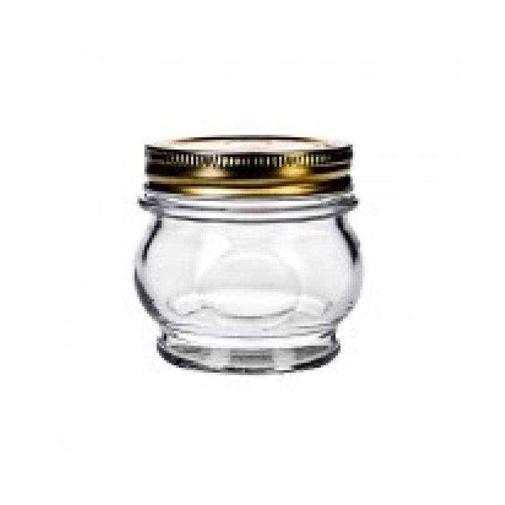 Jar Glass Screwtop Orto Canning Belly 05.5oz