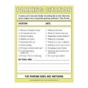 Nifty Notes - Parking Citation