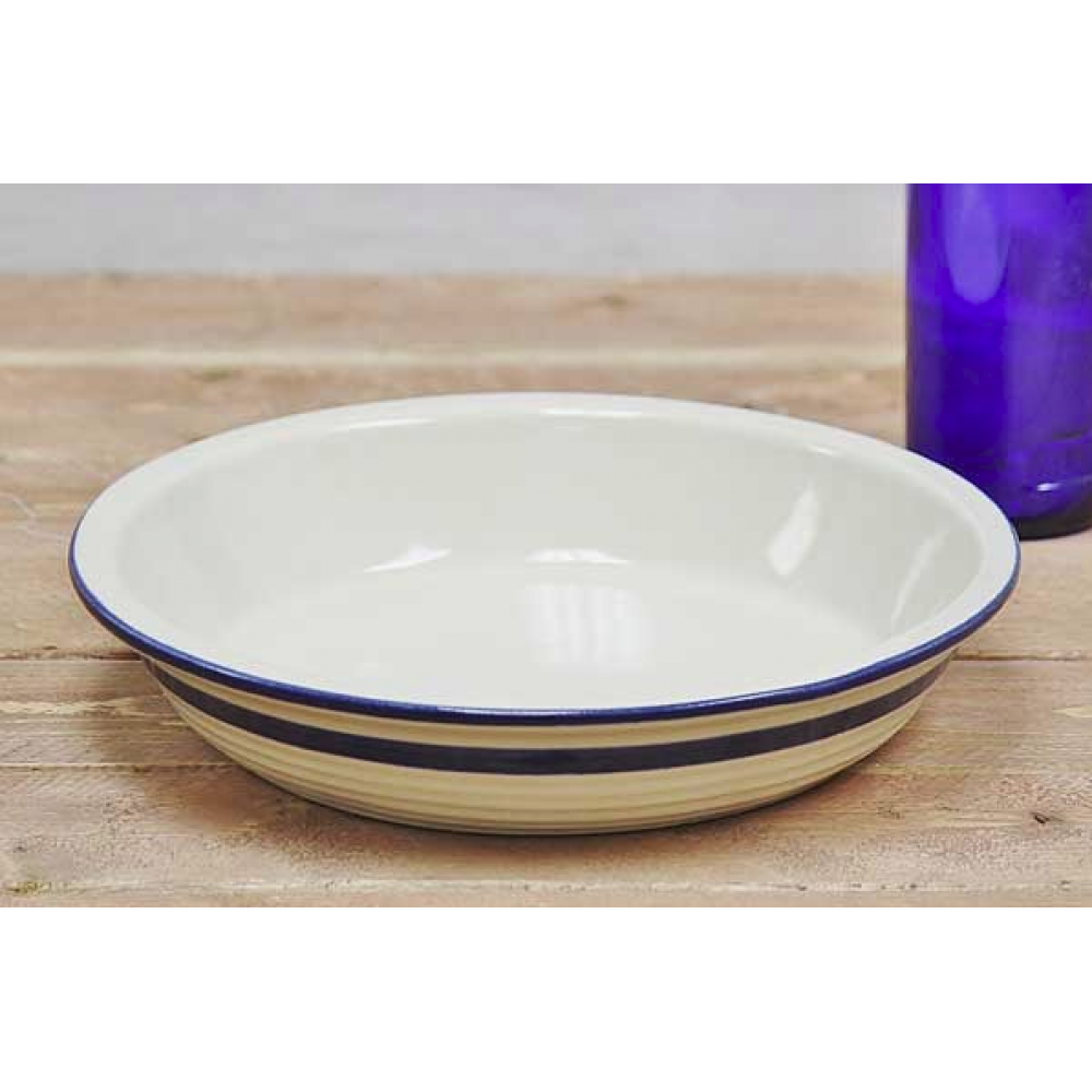 Bakeware Stoneware Pie Plate 10in Dominion